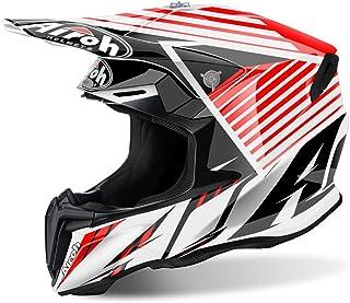 Airoh Twist Strange Motocross Helm XL 61/62 Rot