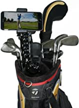 Golf Gadgets - Swing Recording System   Jaws Clamp & Gooseneck Mount for Smartphone. Compatible with iPhones, Samsung Galaxy, HTC, Any Phone, etc. (Jaws Clamp)