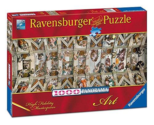 Ravensburger Italy- Cappella Sistina Puzzle da Adulti, Multicolore, 1000 Pezzi, 15062
