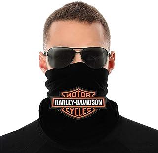 Harley Davidson Variety Head Scarf Bandanas & Balaclava Dust Headband Neck Gaiter for Men Women