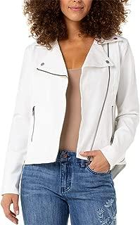 Women's Moto Zip Jacket in Four-Way Stretch Comfort Twill