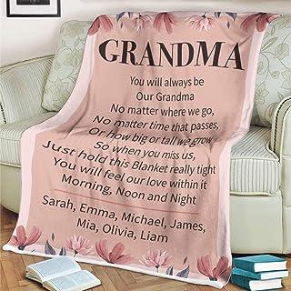 Nanny Gift Cushion Grandma Gifts Mothers Day Gifts Mummy Cushion Grandchild Nan Gift Personalised Grandma Hug Cushion Mum Gifts