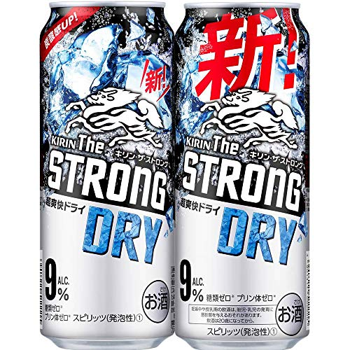 キリンビール キリン ザ ストロング ハードドライ500ml缶×24缶
