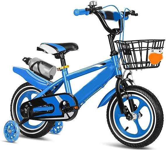 Variable Speed Bike Training Wheels GEZICHTA 1 Pair Bicycle Training Wheels Kids Bicycle Training Wheel Steel Bike Balance Stabiliser for Bikes of 16 18 20 22 24 Inch