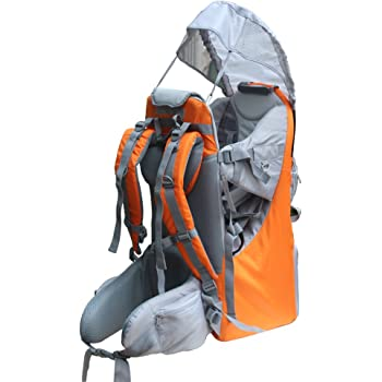 Baby Toddler Hiking Backpack Carrier Camping Child Carriers with Rain Sun Cover