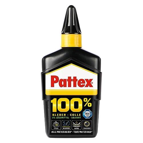 Henkel Pattex 100% 9H P1BC1 Colle transparente sans solvant/sans eau