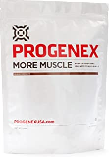 PROGENEX® More Muscle | Hydrolyzed Whey Protein Isolate Powder for Fat Burning and Lean Muscle Gain | Best Tasting Low Carb High Protein Shake for Women and Men | 30 Servings, Belgian Chocolate