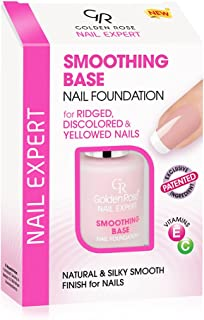 Golden Rose Smoothing Base Nail Foundation for Ridged, Discolored & Yellowed Nails
