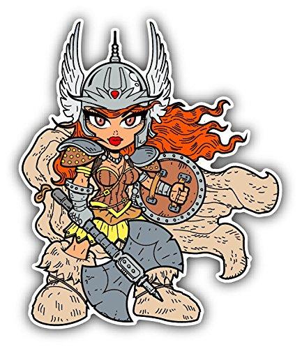 Tough Sexy Anime Manga Warrior Princess De Haute Qualite Pare-Chocs Automobiles Autocollant 10 x 12 cm
