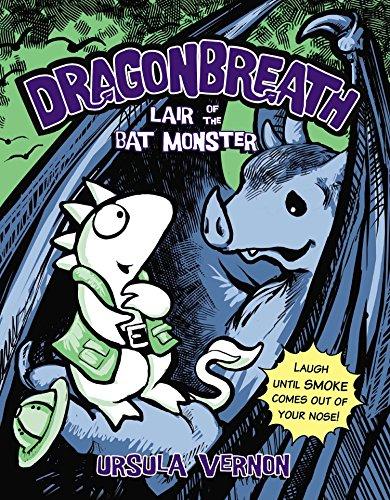 Dragonbreath #4: Lair of the Bat Mo…