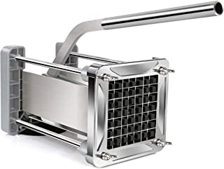 French Fry Cutter, Sopito Professional Potato Cutter Stainless Steel with 1/2-Inch Blade..