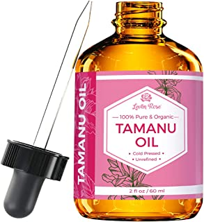 Tamanu Oil by Leven Rose - 100% Pure, Organic, Unrefined, Cold-Pressed Tamanu Oil For Hair, Skin, Nails, Ac...