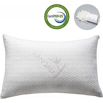 LANGRIA Shredded Memory Foam Pillow