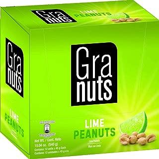 GRANUTS LIME PEANUTS 12 DISPLAYS 1.76 OZ