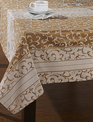 Clásico poliéster Cotton Multi-Blend gamuzas para aspirador de mesa, diseño de flores, 140cm x 180cm: Amazon.es: Hogar