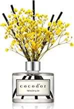 Cocod'or Preserved Real Flower Reed Diffuser/Refreshing Air / 6.7oz(200ml) / 1 Pack/Reed Diffuser Set, Oil Diffuser & Reed...