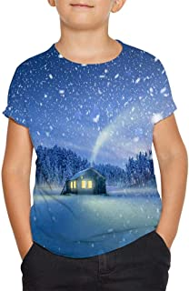 Fairy Tales T Shirt Short Sleeve Crewneck Sports Tee Top for Boys and Girls