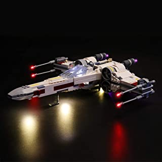 LIGHTAILING Conjunto de Luces (Star Wars Caza Estelar ala-x) Modelo de Construcción de Bloques - Kit de luz LED Compatible con Lego 75218 (NO Incluido en el Modelo)