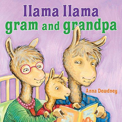 Llama Llama Gram and Grandpa cover art