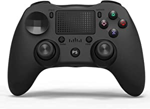 $54 » PS4 Gamepad, Wireless Bluetooth Controller for PS4/Pro/Slim with Dual Shock Double, Compatible with Computer Android,Black