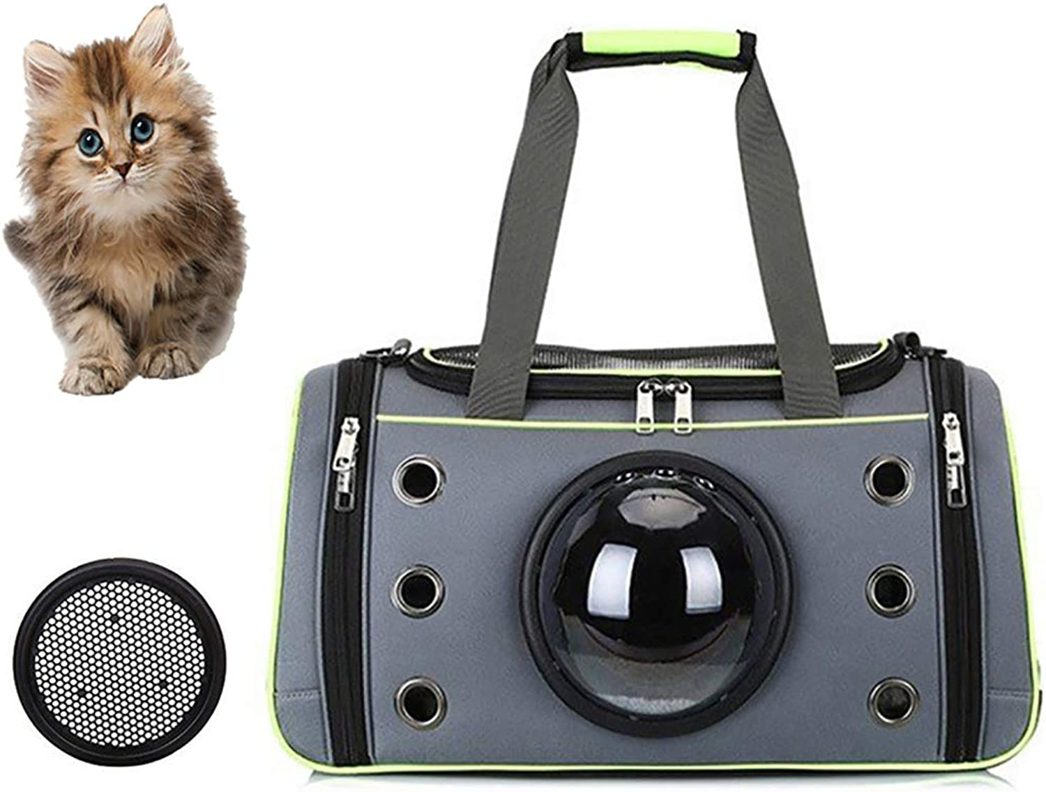 Astronaut Dog cat Backpack,Carrier Breathable Small pet Hand Bag,Airline Approved pet Carrier