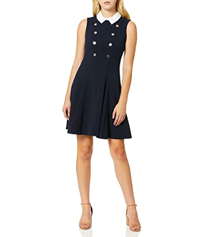 Tommy Hilfiger Collar Fit and Flare Dress