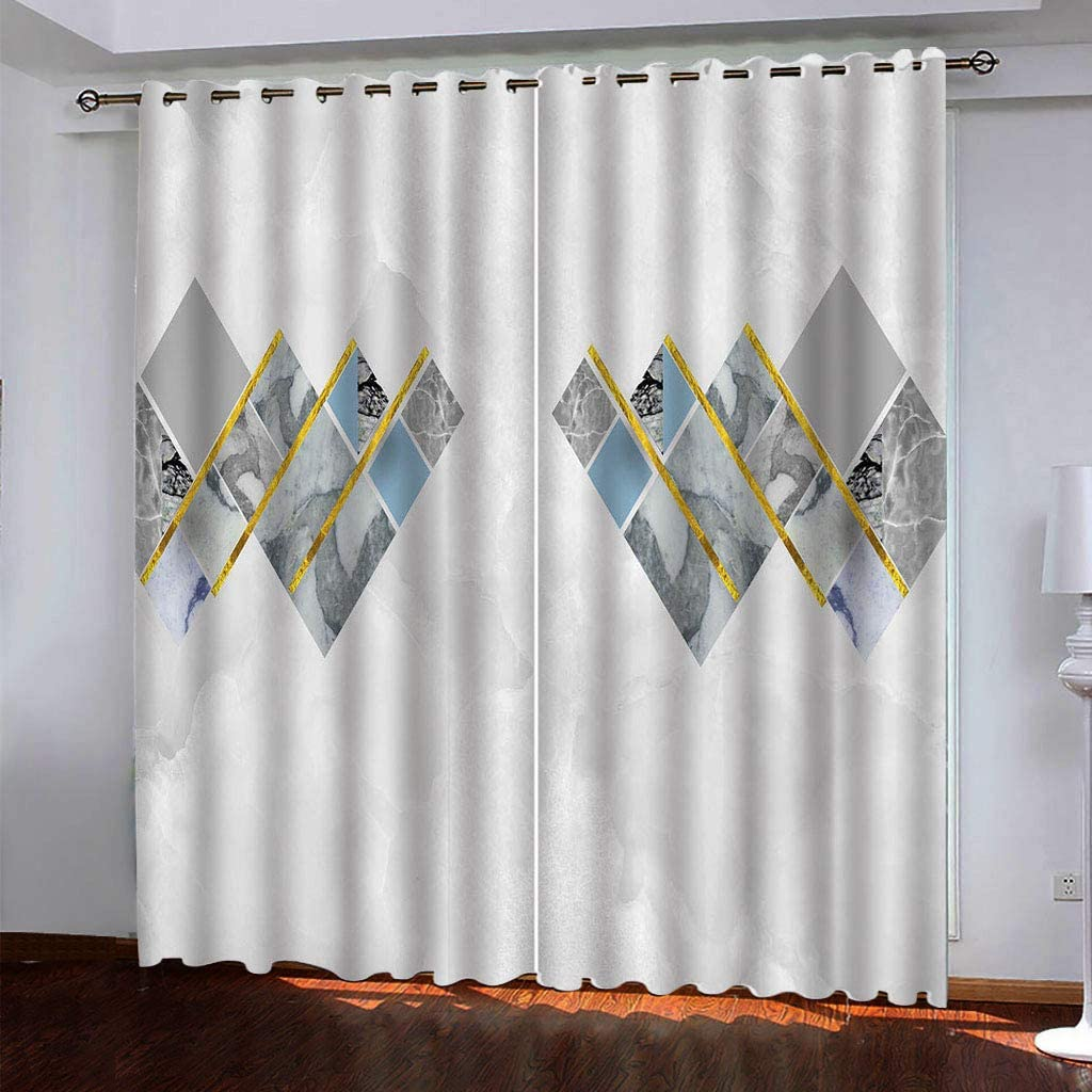 Spring new work one after another WWJNF Blackout Curtains Thermal Insulated - X 84.6 Gr 106.3 55% OFF Inch
