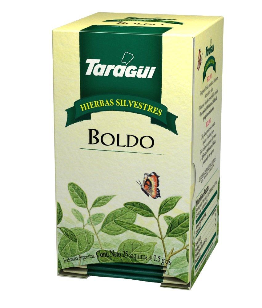 Taragui overseas - Herbal Max 88% OFF Line Tea Boldo 8 Pack 25-Count of