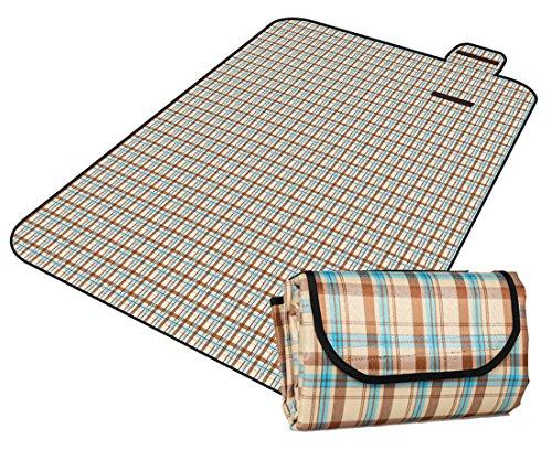 Honeystore 200 * 150 Oxford Yoga Matte Strand Ausflug Picknickdecke mit Wasserabweisender Unterseite A05