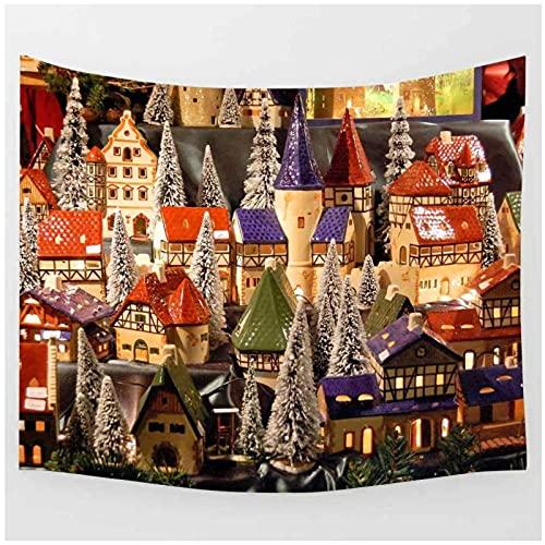 BD-Boombdl Tapiz para colgar en la pared decoración de la casa de color tela de pared arte de pared fondo tela para colgar junto a la cama decoración de sala de estar 70.86'x90.55'Inch(180x230 Cm)