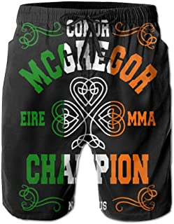 Conor_Mcgregor_Eire_Mma_The_Notorious_ Mens For Surfing Solid Beach Bathing Suits Pants