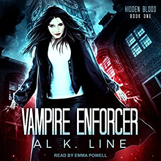 Vampire Enforcer audiobook cover art