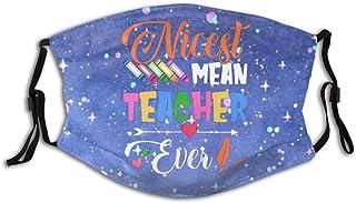 Promini trevligaste lärare personlig munärm återanvändbar munskydd
