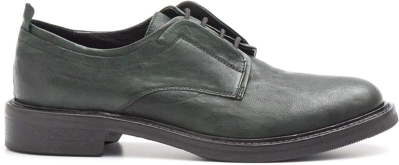 CHARTERHOUSE - Derby schuhe in Very Soft Grün Leather - - 6318SORRENTO Forest  100% authentisch