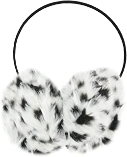 snow leopard ear muffs