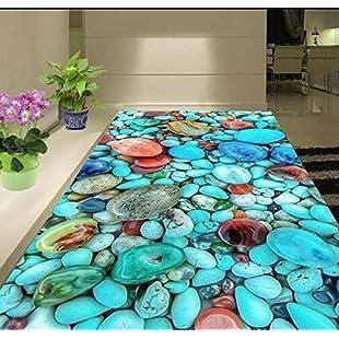 Creative 3D Carpet Living Room Sofa Coffee Table Rug Bedroom Bedside Blanket Children's Rug Kitchen Bathroom Floor Mat Doormat (160CM*200CM):Porcelanatoliquido3d