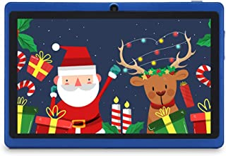 "Haehne 7"" Tablet PC, Android 9.0 Certificado por Google GMS, 1GB RAM 16GB ROM Quad Core, Cámaras Duales 2.0MP+0.3MP, Panta..."