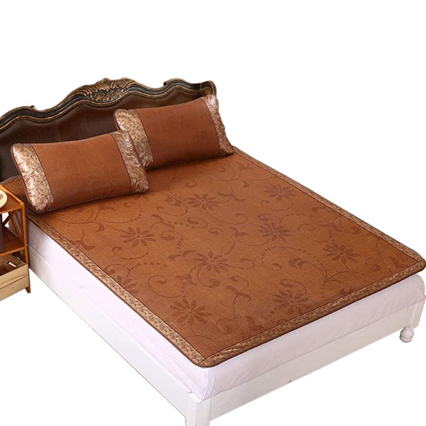ニコチンタンザニア副産物夏のアイスシルクマット、ベビーベッドテント高低ベッド睡眠パッドクールダウン防止熱中症折りたたみクールパッド (Size : 80*190CM)