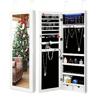 jewelry box cabinet armoire mirror