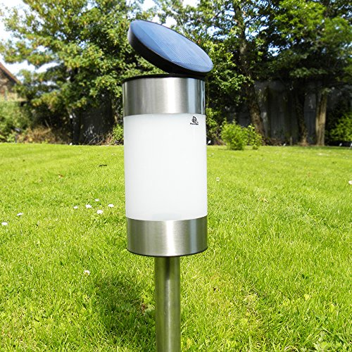 PowerBee Ltd Saturn Solar Garden Lights for all year round, Ideal for Pathways/Lawns, Parties & More.