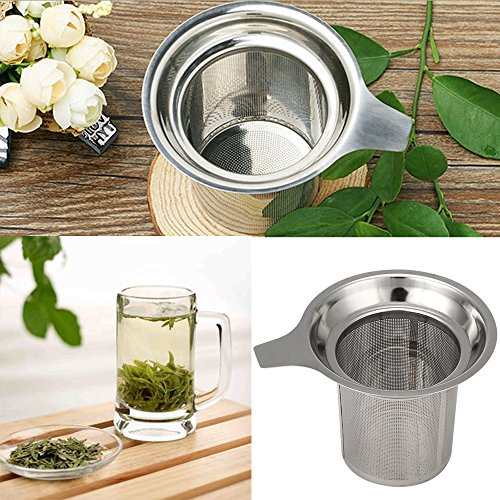 Why Should You Buy Voberry Tea Filters, Thick Stainless Steel Tea Infuser, Extra Fine Mesh Tea Strai...