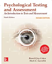 Psychological Testing And Assessment, 9Th Edition [Paperback] Cohen
