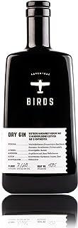 BIRDS Dry Gin - Frischer Deutscher Handmade Gin mit Basilikum, Zitrus und Ingwer - Ideales Geschenk für Abenteurer - Handgefertigt mit 15 Zutaten aus 5 Kontinenten 0,5l