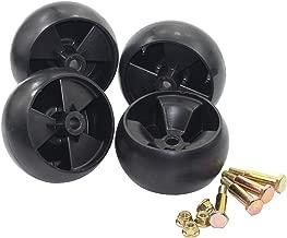 Antanker Mower Deck Wheel Replaces MTD 734-04039 753-04856A Oregon 72-015 4 Pack