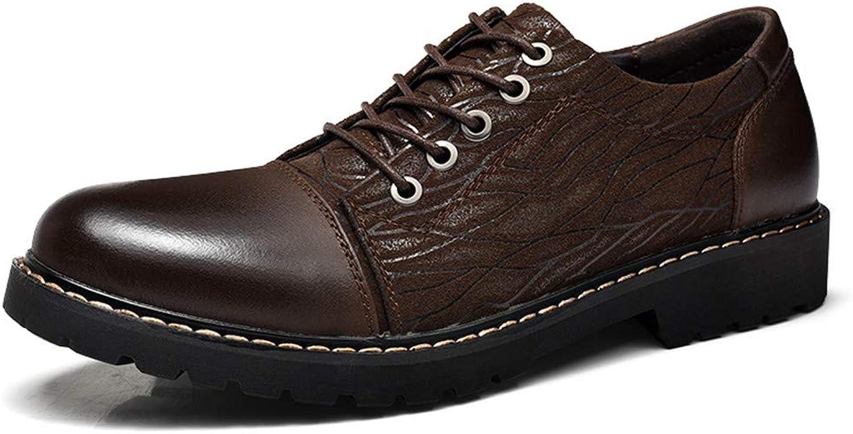 Fang-schuhe, 2018 Herren Business Business Business Oxford Schuhe, Lässige Persönlichkeit Geprägte OX Leder Weiche Und Biegsamen Formelle Schuhe (Farbe   Braun, Größe   42 EU)  3c130d