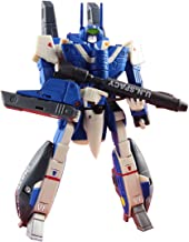 """Toynami 10550 Robotech 1/100 Max Sterling VF-1J Super Veritech Collectible Play Figure, Blue, 6"""""""