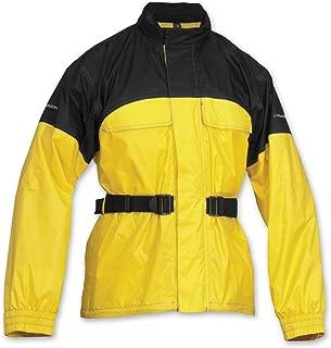 Firstgear Men's Rainman Black/Yellow Rain Jacket FRJ.1319.01.U007