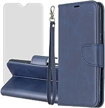 Capa flip magnética ZOOMALL para Samsung Galaxy A6 Plus 2018, carteira fina, capa de livro com 1 protetor de tela de vidro...