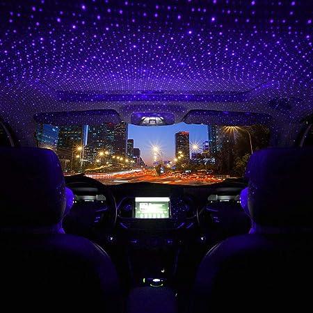 Star Projector Nachtlicht Verstellbare Romantische Usb Innenraum Auto Lichter Tragbare Nachtlampendekorationen Für Decke Schlafzimmer Party Und Mehr Plug Rot Grün Auto