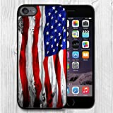 for iPod Touch Case,iPod 6 Black Case, FTFCASE Case TPU Rubber Gel Design for Apple iPod Touch 6th Generation - Banner on Wooden